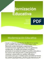Modernizacion Educativa