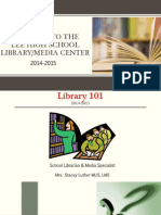 Library Orientation.2014.2015