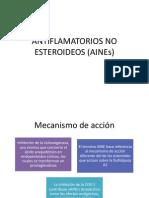 Antiflamatorios No Esteroideos (Aines)