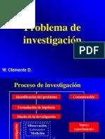 . Problema de Investigación 2013