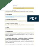 Planificador de Proyectos Puntos 1 Al 3
