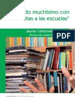Entrevista Jaume Carbonell