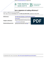 Is Subjective Duration a Signature of Coding Effciency