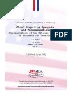 NIST 800-146 Cloud Computing Synopsis