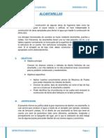 Informe de Alcantarillas