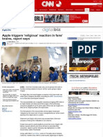 Apple Triggers 'Religious' Reaction in Fans' Brains, Report Says - CNN.com