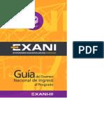 Guía Exani-III 10a. Ed. - Exani3