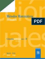 Métodos Matemáticos Para Estadística - I. O. de Castilla y J. G. Vargas