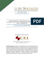 ROSALES, Raúl-Posmodernismo en La Antropología Sanmarquina o Falta de Rigor-Patio de Sociales 060714