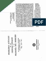 Sobre La Autoria Y Participacion en El Derecho Penal (F
