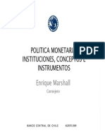Politica Monetaria Conceptos e Instrumentos