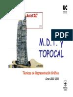 Perfil Longitudinal - Topocal