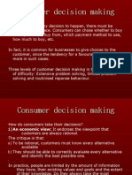 Consumer Decision Making[1]