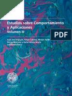 Estudios sobre Comportamiento y Aplicaciones, Volumen III