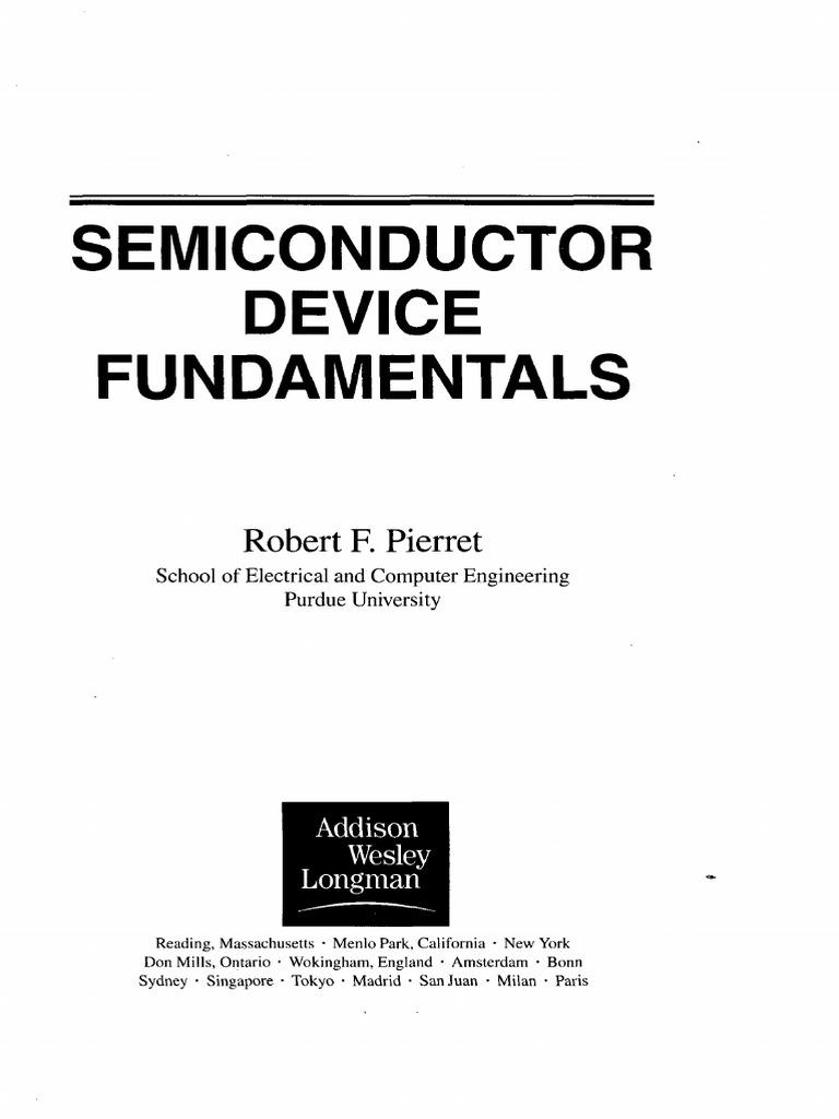 semiconductor device fundamentals bipolar junction transistor mosfet rh scribd com Computer Fundamentals Semiconductor Manufacturing