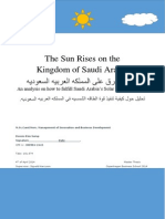 Master Thesis - The Sun Rises on the Kingdom of Saudi Arabia - April 2014