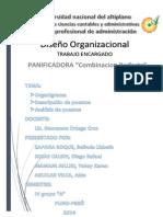 Diseño Organizacional Trabajo
