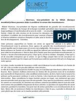 Banque Mondiale MIGA Michel Wormser