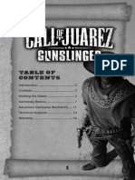 Gunslinger Manual English