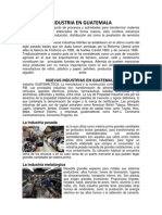 Industrias de Guatemala 2014