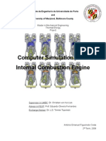 Computer Simulation of an Internal Combustion Engine