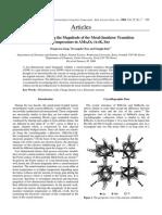 Factors Affects Insulator-metal Temp