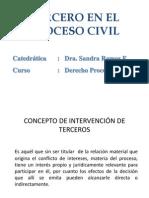 Tercero en El Proceso Civil