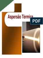 aspersao termica
