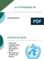 Modelos e Paradigmas de Saúde
