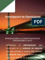 Intro. Investigacion de Operaciones