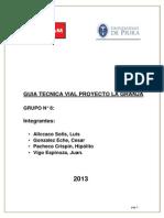 Guia Tecnica Vial Proyecto LA GRANJA-Grupo 8