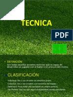 Tecnica Futbol