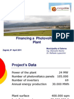 Financing 24mw-Power-plant Salerno Savino 2011