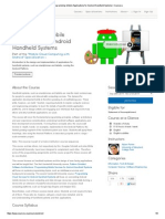Coursera - Programming Mobile Apps Android