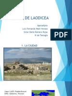 Iglesia de Laodicea