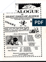Catalogue of Silent Tools of Justice - Maynard C. Campbell (Original)
