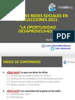 Redes sociales en las elecciones de 2011.pptx