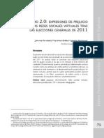 Racismo 2.0. Expresiones de prejuicio en las redes sociales virtuales tras las elecciones generales de 2011.pdf