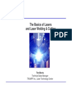 Laser Welding Basics