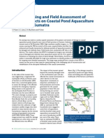 Remote sensing and field assessment of tsunamy affected area