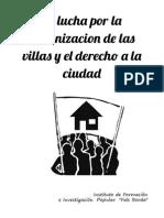 La Lucha Por La Urbanización y El Derecho a La Ciudad