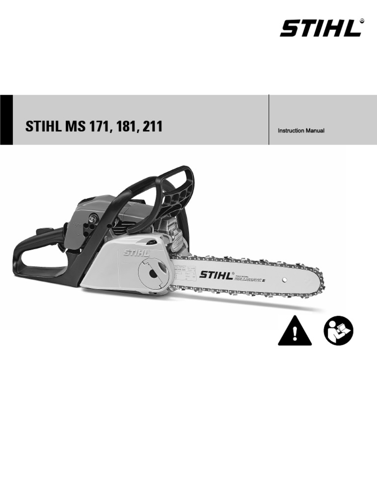 Stihl 211 Chainsaw Manual Gasoline Energy And Resource Engine Diagram
