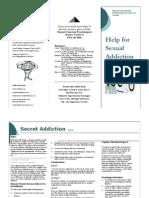 Sex Addiction Brochure