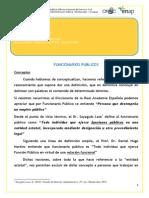 20140313 Funcionarios Publicos Nuevo Estatuto PRIMERA PARTE
