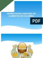 Normatividad Sanitaria de Alimentos en Colombia