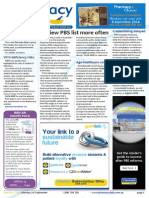 Pharmacy Daily for Mon 01 Sep 2014 - Review PBS list more often, Credentialing delayed, ACCC on monetising, Age-healthcare costs and much more
