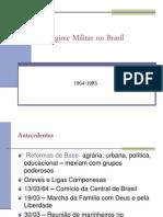 O Regime Militar No Brasil