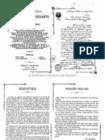 Sistema Gráfico Estelar Del Esperanto Por Ipólito K. Kontreras 1908