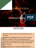 Jenayah Juvana