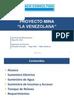 Gerencia de Infraestructura, La Venezolana
